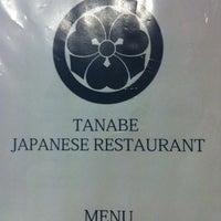 Photo taken at Tanabe Japanese Restaurant by Anita K. on 4/20/2012
