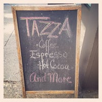 Photo taken at Tazza by Christopher Prince B. on 3/30/2012