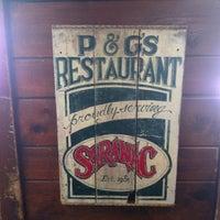 Photo taken at P&G's Restaurant & Bar by John G. on 5/18/2012
