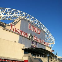 Photo taken at Thomas & Mack Center by Rob M. on 3/9/2012