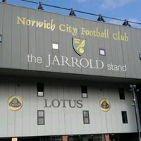 Photo taken at Carrow Road by Aira T. on 4/5/2012