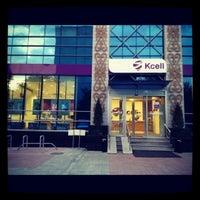 Photo taken at KCell by Assiya B. on 5/29/2012