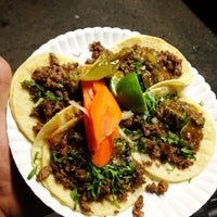 Photo taken at Tacos Mi Rancho by Charles P. on 3/21/2012