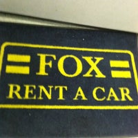 Photo taken at Fox Rent A Car by Bobbi C. on 3/13/2012