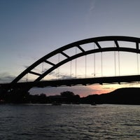 Photo taken at 360 Bridge (Pennybacker Bridge) by Alyson S. on 7/1/2012