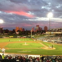 Photo taken at Raley Field by Ryan F. on 9/6/2012
