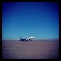 Photo taken at Aeropuerto El Loa (CJC) by Joaquin L. on 8/17/2012