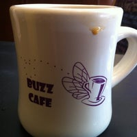 Photo taken at Buzz Cafe by Michael M. on 7/16/2012