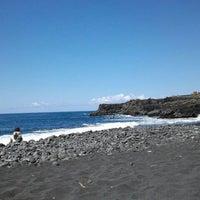 Photo taken at Playa de Charco Verde by Dani H. on 4/6/2012