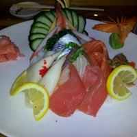 Photo taken at Sushi Thai by Rachel H. on 6/15/2012
