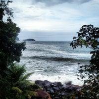 Photo taken at Praia Preta by Prika U. on 4/28/2012