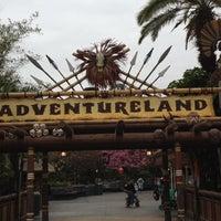 Photo taken at Adventureland by Brady J. on 2/26/2012
