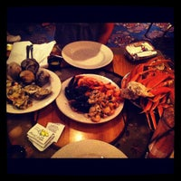 Photo taken at Captain George's Seafood Buffet by Joanna L. on 7/22/2012