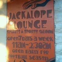 Photo taken at Jackalope Lounge by Jessina V. on 6/21/2012