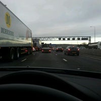 Photo taken at M25 by Andy G. on 3/6/2012