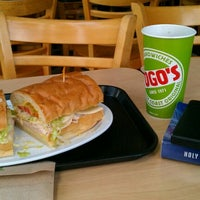 Photo taken at TOGO'S Sandwiches by Nate C. on 4/11/2012