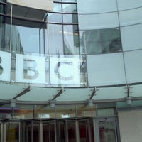 Photo taken at BBC Broadcasting House by Seba M. on 9/1/2012
