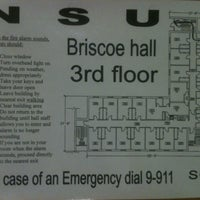 Photo taken at Briscoe Hall by Kris M. on 3/15/2012