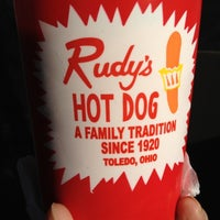 Photo taken at Rudy's Hot Dog by Cynthia D. on 3/6/2012