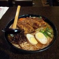 Photo taken at Ajisen Ramen 味千拉面 by Makoto K. on 6/14/2012