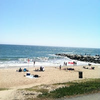 Photo taken at Will Rogers State Beach by Marlene B. on 8/5/2012