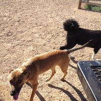 Photo taken at Horsetooth Dog Park by Erika B. on 4/8/2012