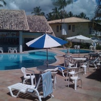 Photo taken at Sunshine Praia Hotel by Cristiano F. on 2/25/2012