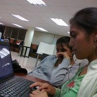 Photo taken at UTPL - Biblioteca by Juan L. on 3/26/2012
