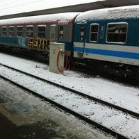 Photo taken at Železniška postaja Ljubljana / Train Station by Petar R. on 2/12/2012