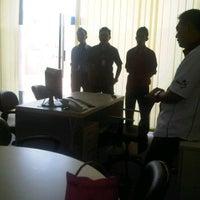 Photo taken at Lantai Dasar Menara Bank Pundi KCP Tugumulyo by RiZal KhaBek I. on 4/26/2012
