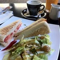 Photo taken at Tranzit Art Café by Jozsef P. on 4/28/2012