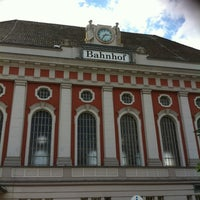 Photo taken at Bahnhof Hamm (Westfalen) by Knuth M. on 6/23/2012