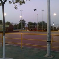 Photo taken at Complejo Deportivo Municipal Ramón y Cajal by Roberto G. on 8/21/2012