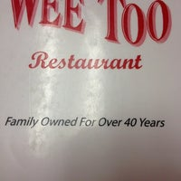 Photo taken at Wee Too Restaurant by Micky F. on 7/4/2012