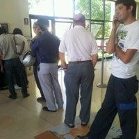 Photo taken at BancoEstado by Damian H. on 3/2/2012