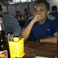 Photo taken at Bakso Urat Basuki by Mas E. on 8/30/2012