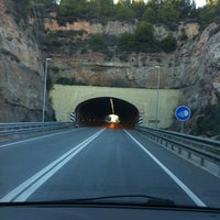 Photo taken at Túnel de la Rovira by TAXI650 BAGES 6. on 2/17/2012