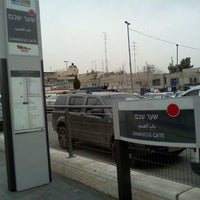 Photo taken at Damascus Gate Light Rail Station by Marc D. on 2/7/2012