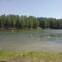 Photo taken at Озеро на Юбилейке by Татьяна М. on 6/10/2012