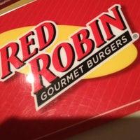Photo taken at Red Robin Gourmet Burgers by matt j. on 8/22/2012