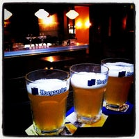 Photo taken at Belgian Beer Café Brussels by Don E. on 2/13/2012
