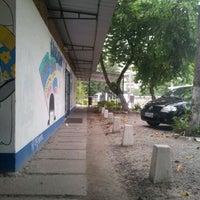 Photo taken at UFF - Instituto de Educação Física by Gabriel A. on 4/9/2012
