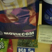 Photo taken at Moviecom Cinemas by Francisco W. on 3/28/2012