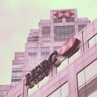 Photo taken at HSBC Bank   U CHULIAMG Tower by marut p. on 8/3/2012