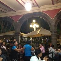 Photo taken at Los Portales de Puebla by Jessica D. on 6/8/2012