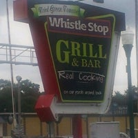 Photo taken at Whistle Stop Grill & Bar by Ann G. on 5/29/2012