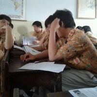 Photo taken at Sekolah Santo Paulus Jakarta by Hendry D. on 2/10/2012