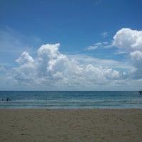 Photo taken at Playa del Carmen by B_Mademoiselle on 8/11/2012