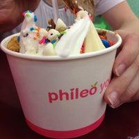 Photo taken at Phileo Yogurt by Kate F. on 5/27/2012