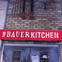 Photo taken at The Bauer Kitchen by Jay S. on 3/4/2012